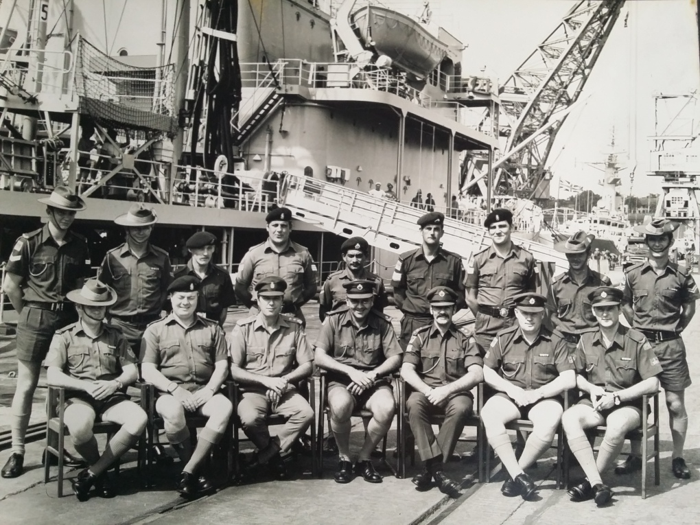 ANZUK SUPPLY DEPOT STAFF 1972