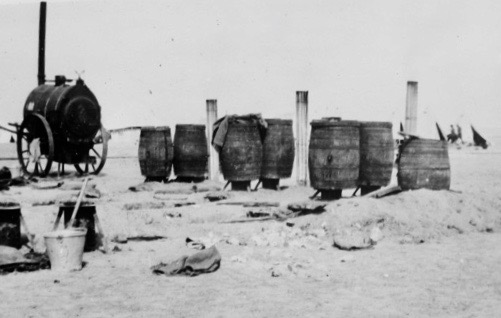 A network of Serbian Barrels ©The National Museum of Valjevo