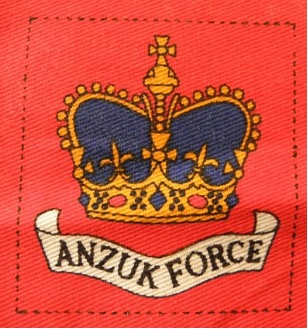 ANZUK Force patch. Robert McKie Collection.