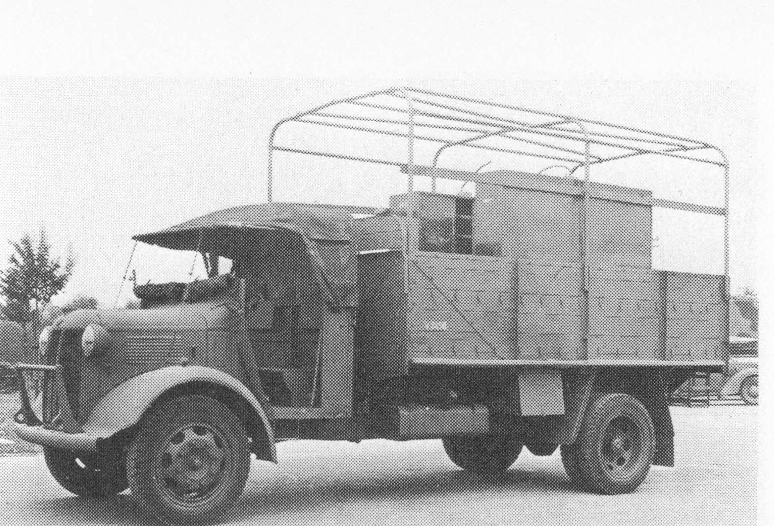 Bin Truck