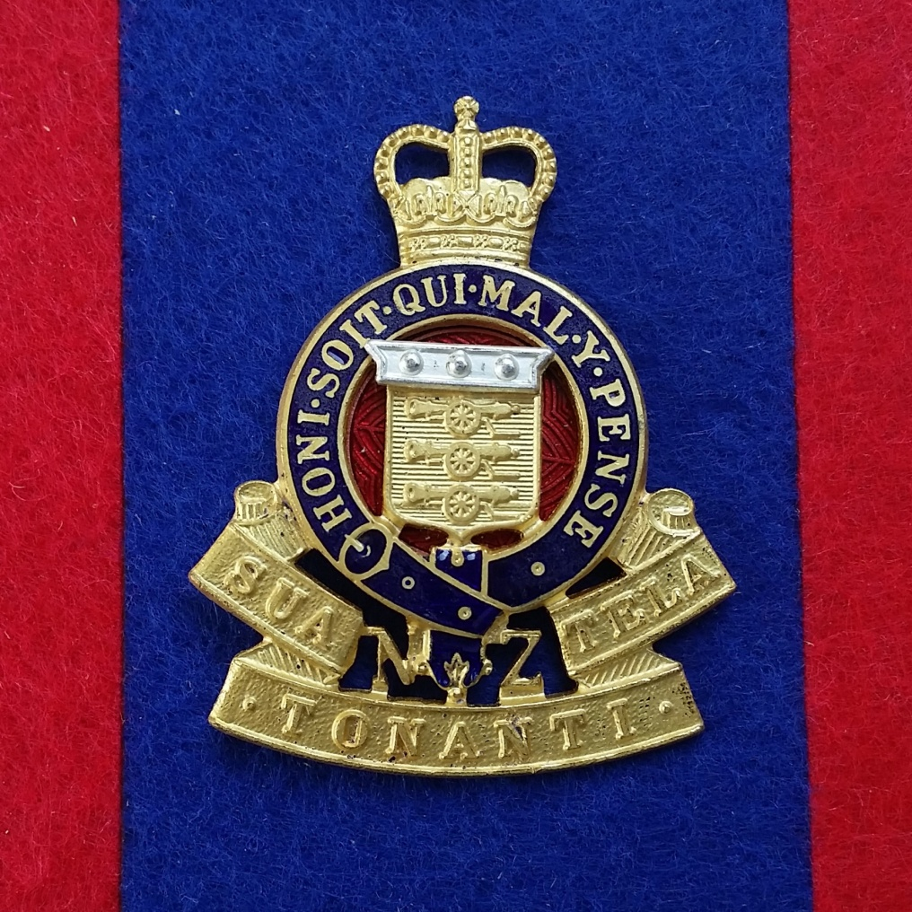 Badge of the RNZAOC. Copyright © Robert McKie 2017