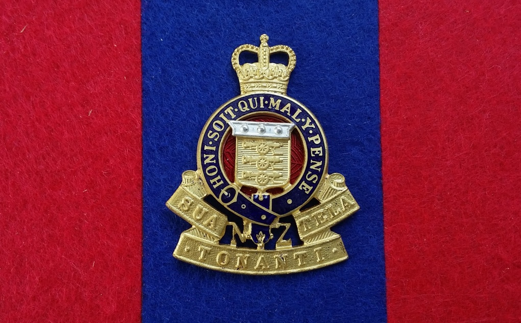 rnzaoc 1955-1996 GS&E Officers Badge