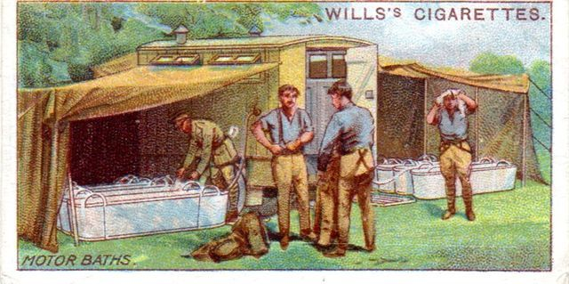 will's cigarette cards published in 1916 illustrating military motors