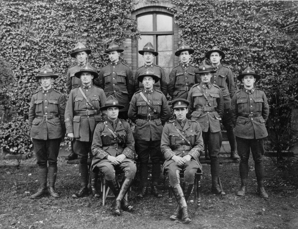 NZ Ordnance Staff 1919
