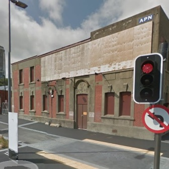 Defence Stores, Bunny Street, Wellington. Goggle Maps/Public Domain