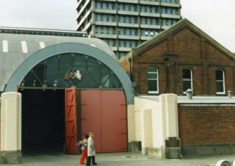 King Edward Barracks, Christchurch. Christchurch Public Library