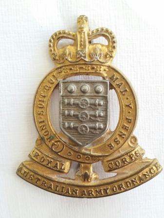 RAAOC 1953 - Present. Robert McKie collection