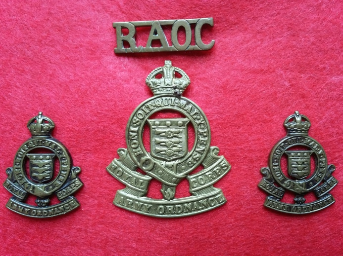 Royal Army Ordnance Corps, 1918-1947. Robert McKie collection