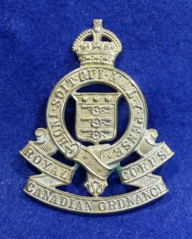 Royal Canadian Ordnance Corps 1926-1953. Robert McKie Collection