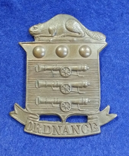 Canadian Ordnance Corps badge, 1903-1922. Robert McKie collection