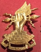 WW1 period Pagri (Turban) Badge of the Indian Army Ordnance Corps