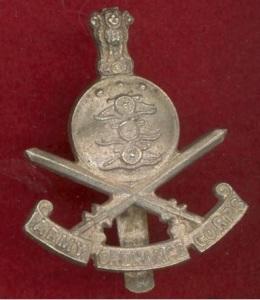 iindia ordnance post 1947