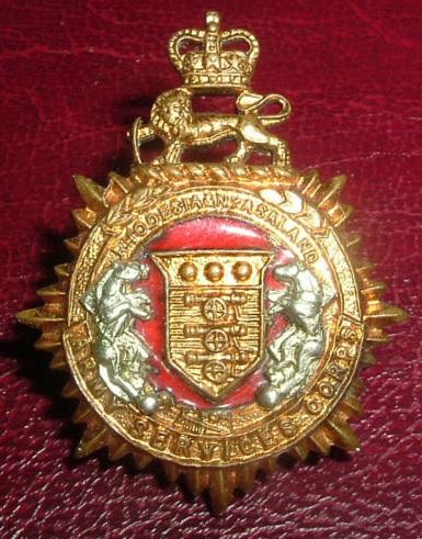 Rhodesia and Nyasaland Army Service Corps