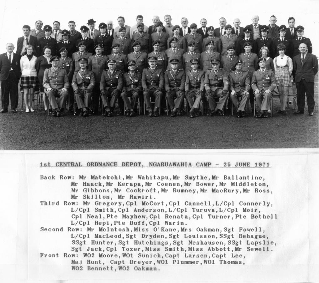 1st COD 1971
