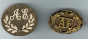 Ammunition Examiner Trade Badge 1942 to 1950 (ACI 37 of 1942)