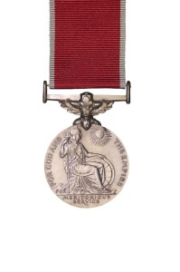 Medals awarded to the NZDF. WW2  War Medal. Obverse.