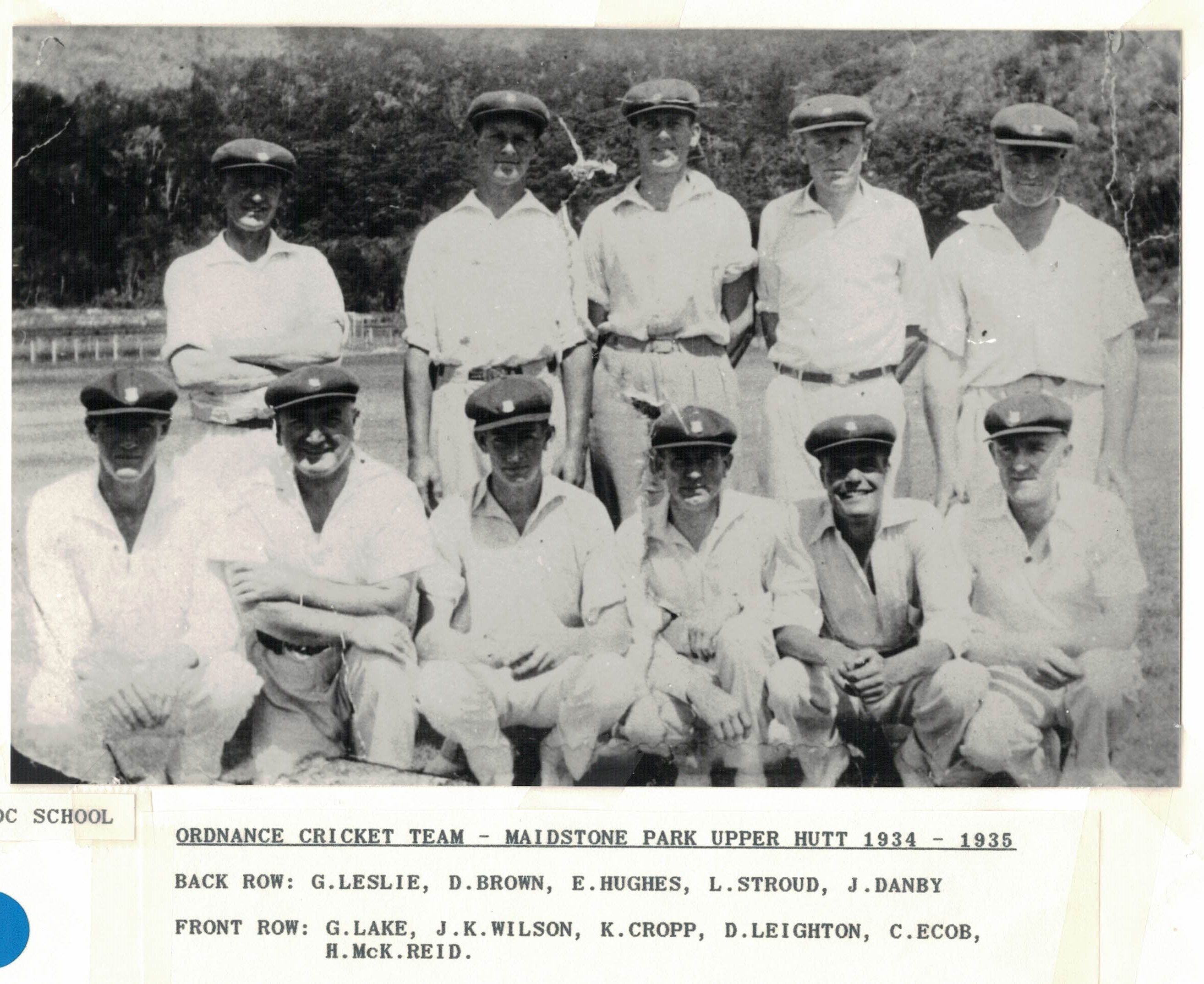 Ord Cricket Team