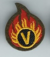 'Volunteer EOD Operator' Badge c1986