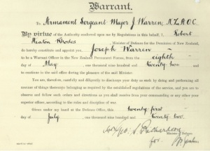 warren warrant