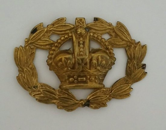 Warrant Officer Class One, Conductor Badge 1915-1918. Robert McKie Collection