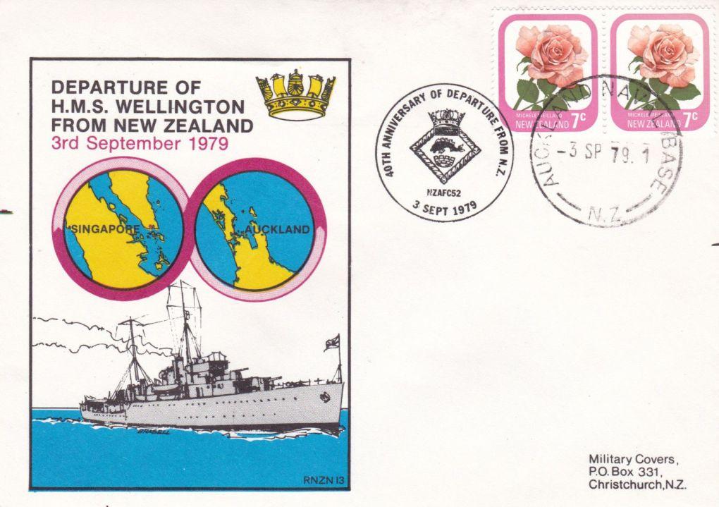HMS Welligton 1978