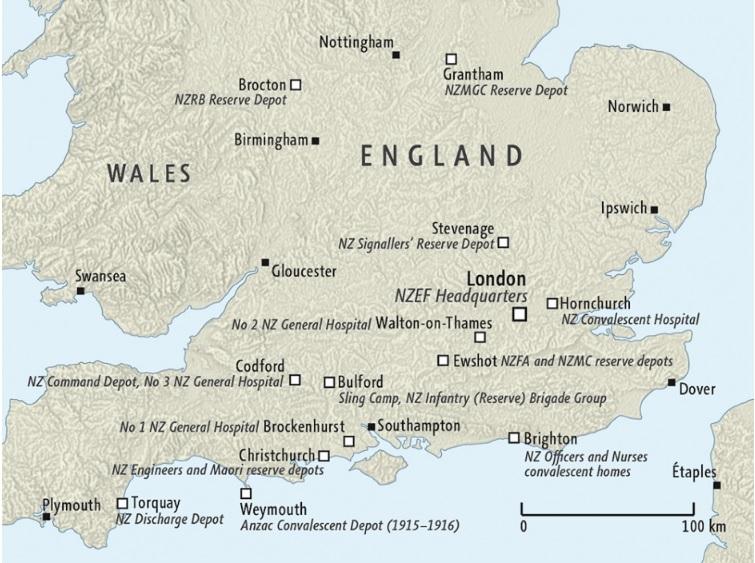 NZEF in UK