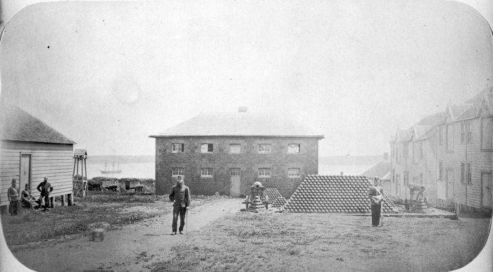 Fort Britomart 1860s