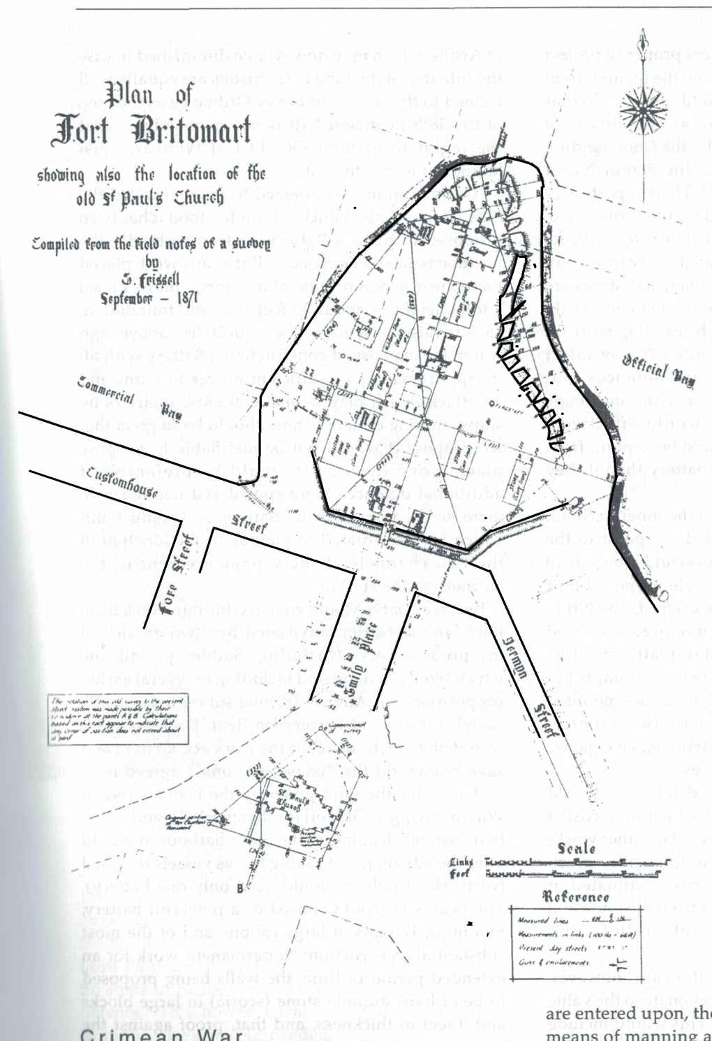 Fort Britomart Map