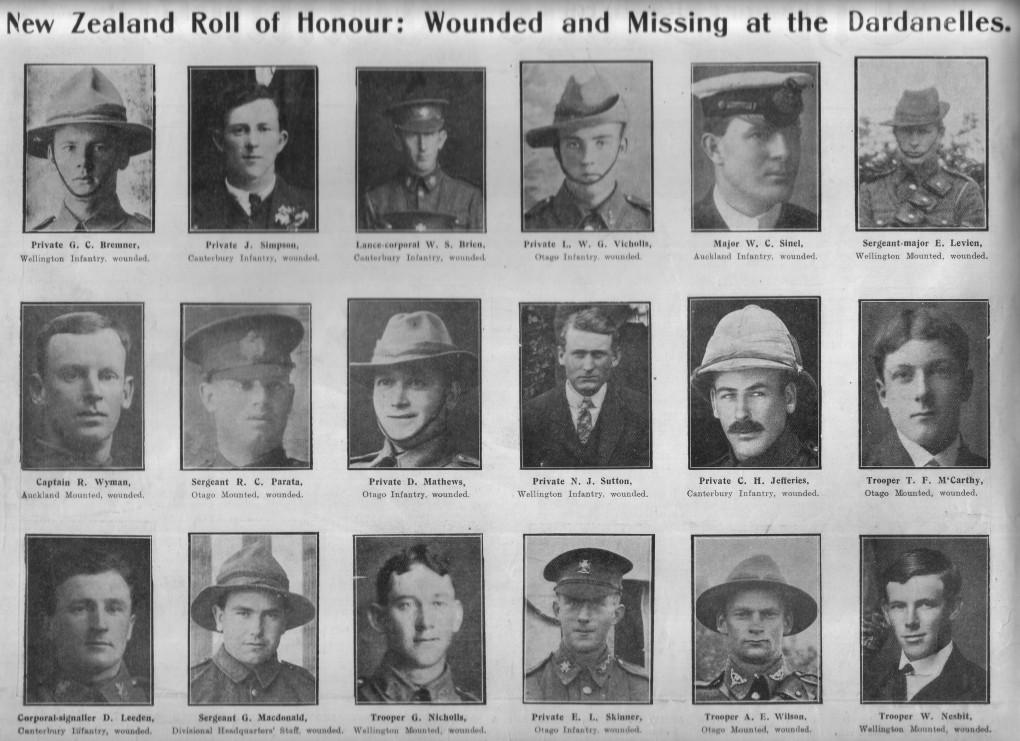 Bremner GC 07a Otago Witness Sep 1915