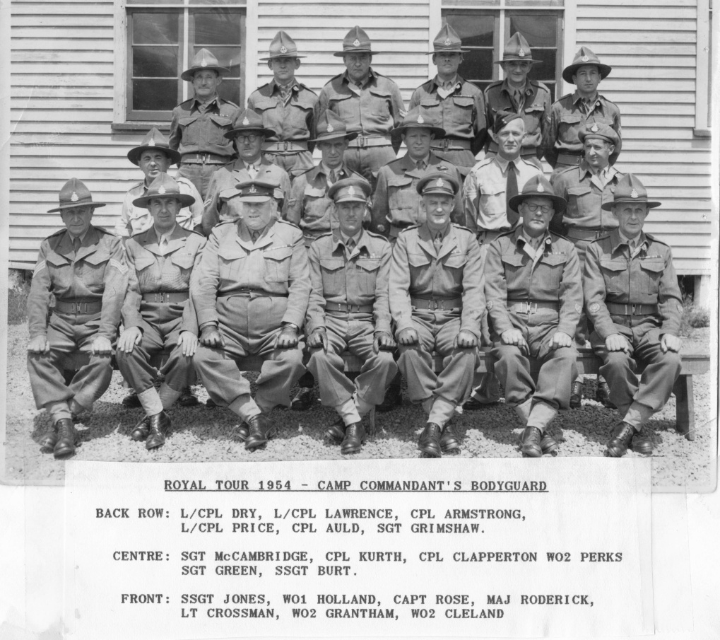 camp commandants bodyguard 1954