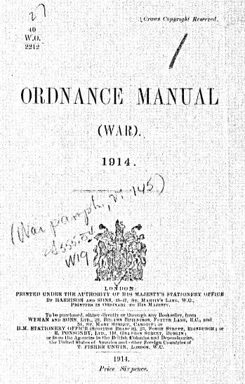 Ord Manual 1914