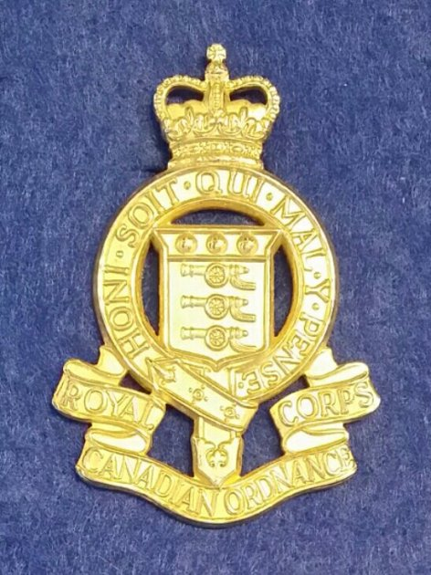 Royal Canadian Ordnance Corps, 1961 -1968. Robert McKie Collection