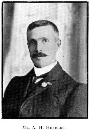 MR A.H Herbert C1907